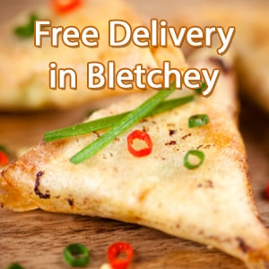 Indian curry food delivery in Portchester
